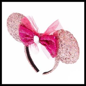DISNEY PINK BIRTHDAY MINNIE EARS